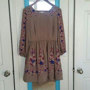 Free People Long Sleeve Dress